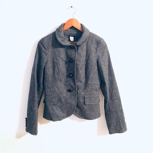 J Crew 100% wool blazer jacket